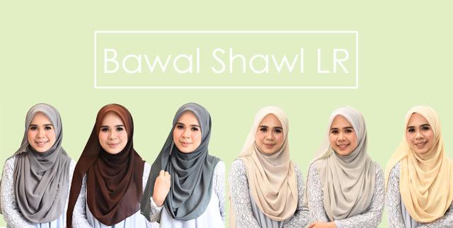 Bawal Shawl Labuh Senang Bentuk Untuk Gaya Muslimah