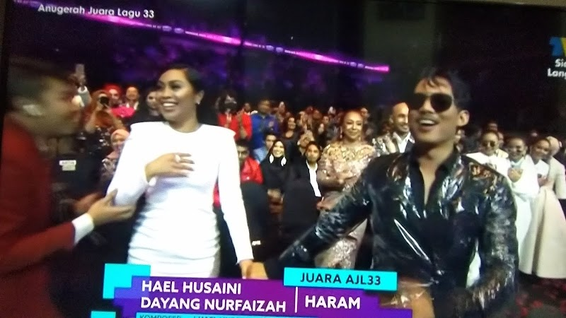 Tahniah! Haram Hael Husaini Muncul Juara Lagu ke AJL33