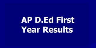 D.Ed 2018-20 Batch   -First year results released   డీఈడీ మొదటి ఏడాది ఫలితాలు విడుదల