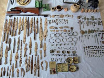 Έκρυβαν σε αποθήκη αρχαίο θησαυρό από τα Γρεβενά