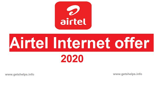 Airtel new sim internet offer 2020