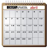 grupo anaya agenda abril