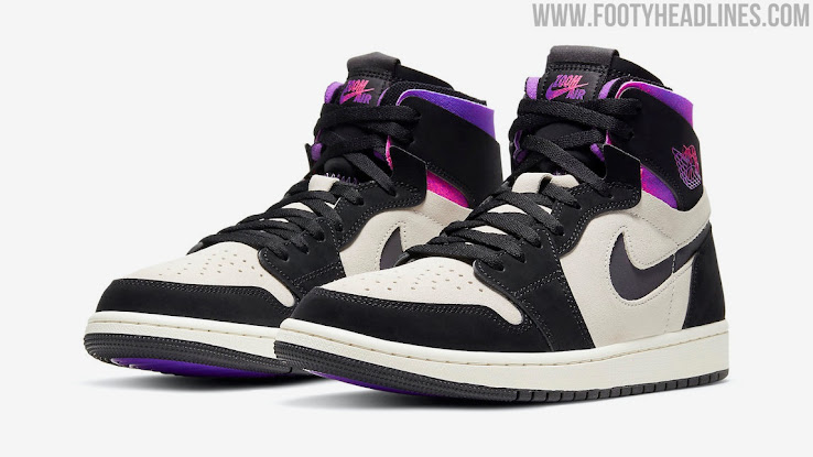 Iridescent Air Jordan 1 Zoom Comfort Psg 2021 Sneaker Revealed Footy Headlines