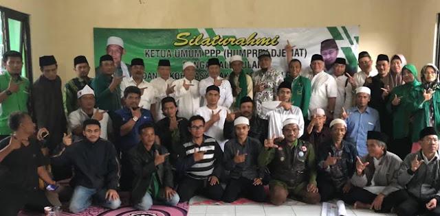 Menangkan Prabowo-Sandi, Ketum PPP Bergerilya di Jawa Barat