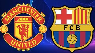 توقيت مباراة برشلونة و مانشستر يونايتد والقنوات الناقلة