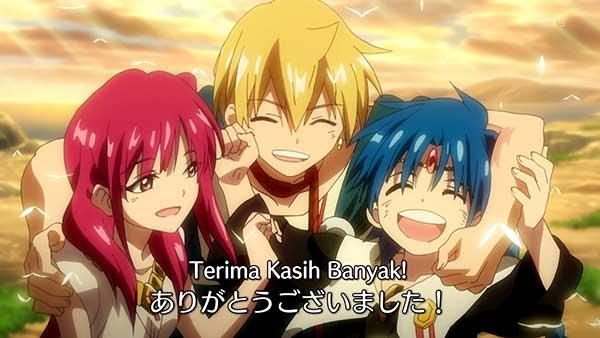 Magi - anime sihir-sihiran yang terbaik