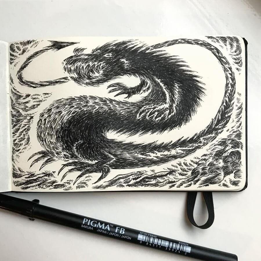 04-The-friendly-dragon-Kimmo-Oja-www-designstack-co