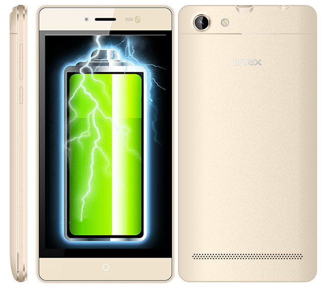Intex Aqua Power M With 4350 mAh Longest Battery Launched at Rs. 4,800