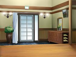 Anime Landscape: Anime Door Background