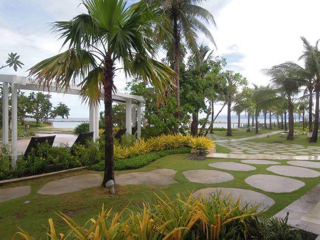 Garden in Misibis Bay