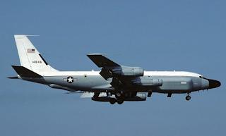 دخلت الطائرة الأمريكية للتجسس البحر الأسود إزاء التوترات الأخيرة بين موسكو وكييف