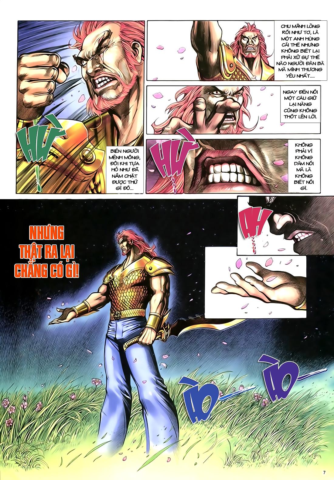 Anh hùng vô lệ Chap 18 trang 8