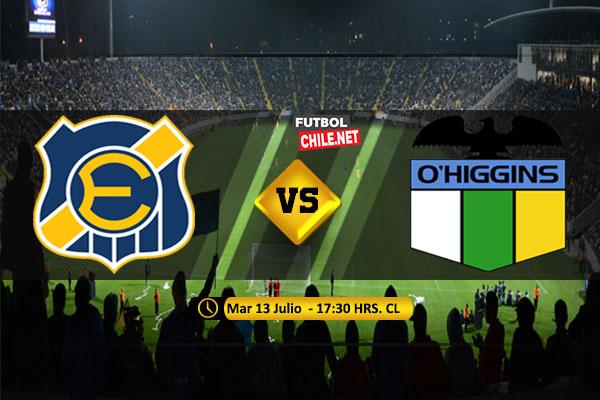 Mira Everton vs O´Higgins en vivo y online por los Octavos de Final Ida de la Copa Chile