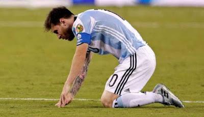 Messi Nyatakan Pensiun Membela Timnas Argentina