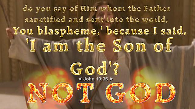 John 10:36.