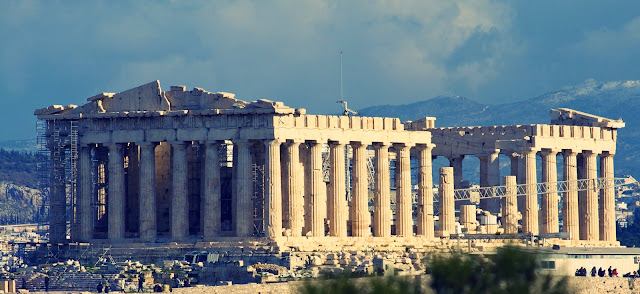 The Acropolis, Athena Yunani