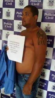 Polícia Militar e Guarda Municipal de Baixa Grande (BA) prendem traficante de drogas na comunidade de Novo Sitio
