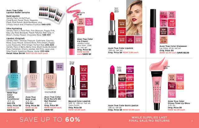 avon outlet 19 2019 makeup sale