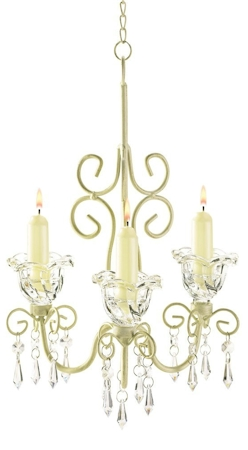 Amazing Since you can transfer flame on YomTov but not on Shabbos why not glam up your Sukkah at night with some beautiful candle chandeliers