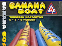 BANANA BOAT | DONAT BOAT | RUBBER BOAT | JASA REPAIR & SERVICE RUBBER BOAT