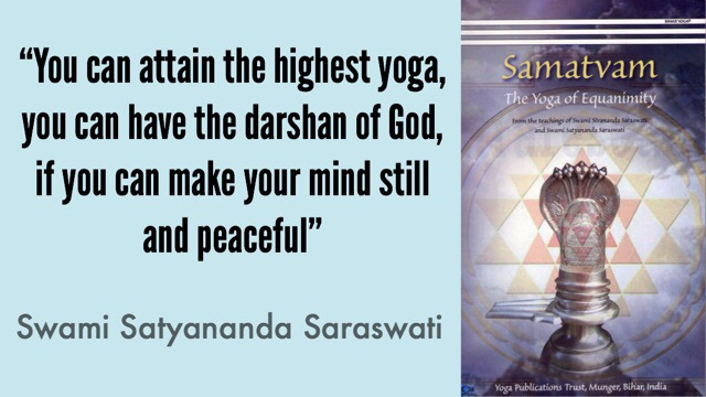 Samatvam (Equanimity) is Yoga