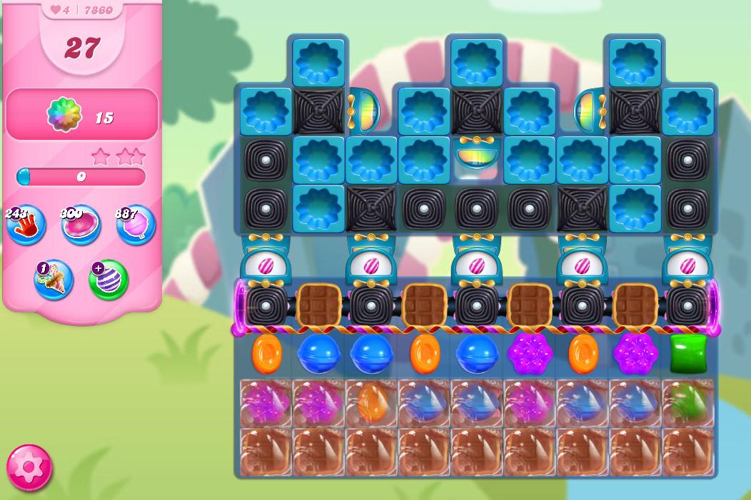 Candy Crush Saga level 7860