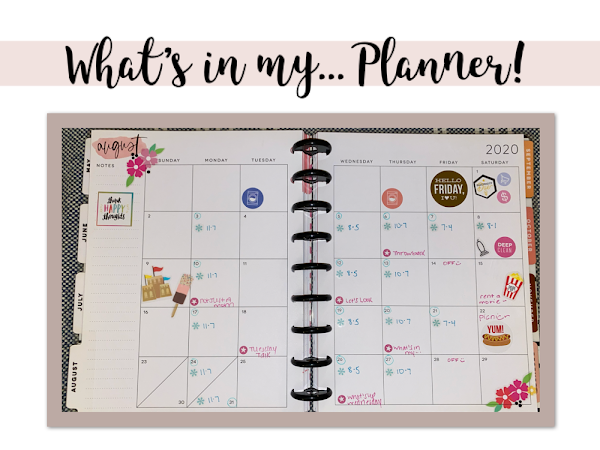 What's In My Planner!