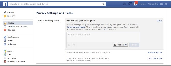 how to restrict friends on facebook using iphone