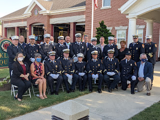 Franklin Fire Department Promotional Ceremony