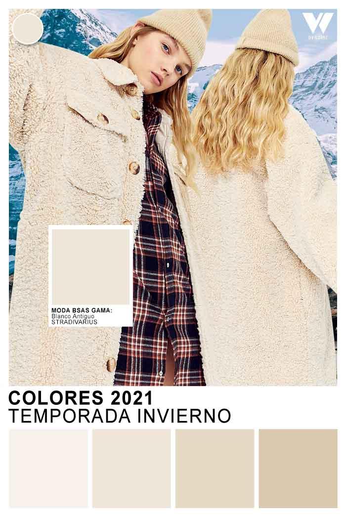 Moda invierno 2021 Colores de moda invierno 2021