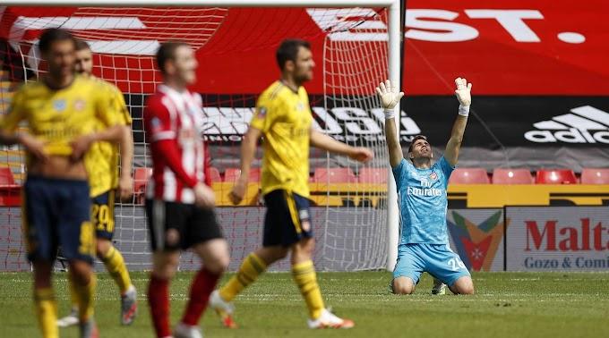 Sheffield United 1 - 2 Arsenal Full Match Highlight