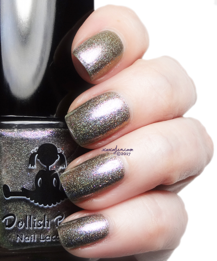 xoxoJen's swatch of Dollish Polish NY State of Mind