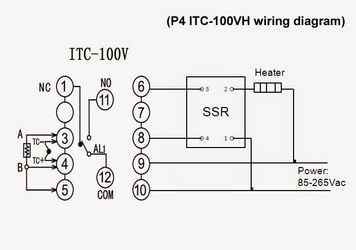 pid wiring diagram 220v