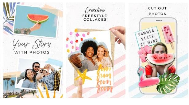 10 Aplikasi Kolase Foto (Photo Collage) Terbaik di Android - Aplikasi Kolase Foto Kekinian Pic Collage