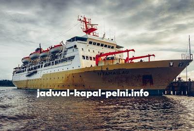 Jadwal Kapal KM Tatamailau Bulan Mei 2019