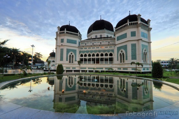 Masjid Raya Medan, Saksi Kehebatan Melayu