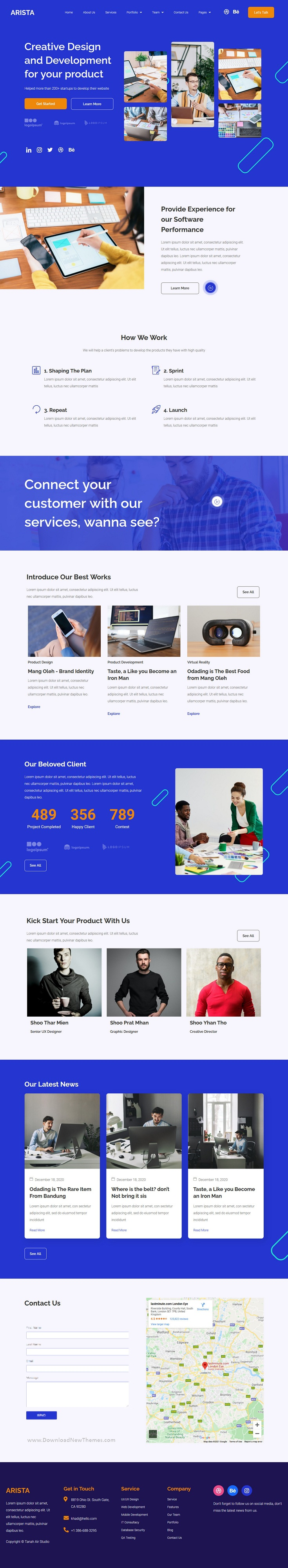 Multipurpose Business Elementor Template Kit