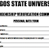 LASU Indigeneship Verification Form, Screening Dates, Time and Venue - 2018/2019