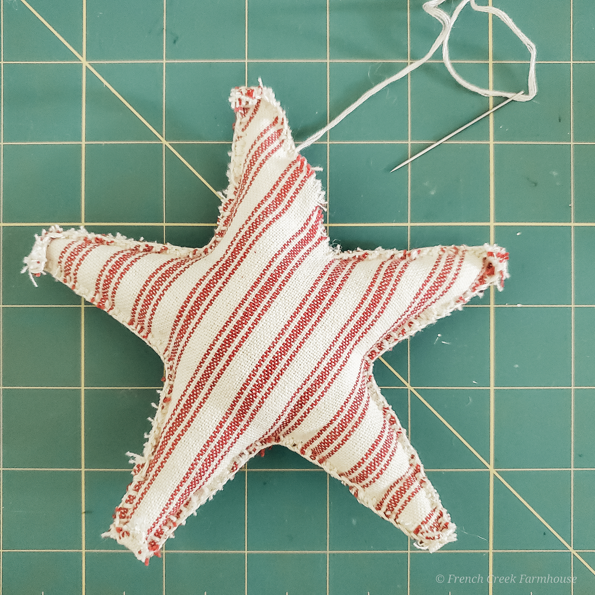 No sewing machine required for this easy DIY craft