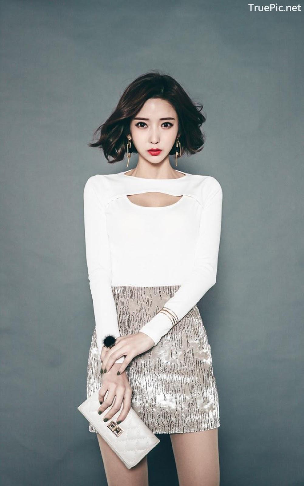 Image Ye Jin - Korean Fashion Model - Studio Photoshoot Collection - TruePic.net - Picture-8