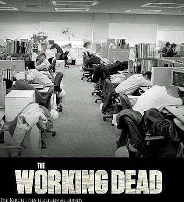 Montag Keine Lust auf Arbeit Büro lustig