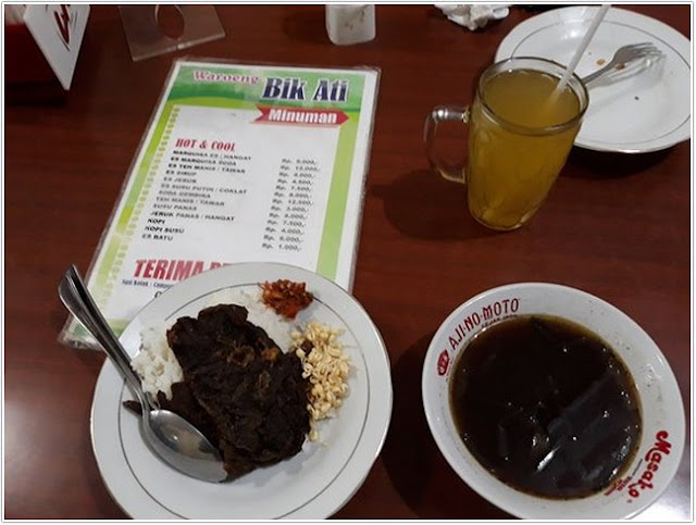Rawon Bik Ati;10 Top Kuliner Banyuwangi