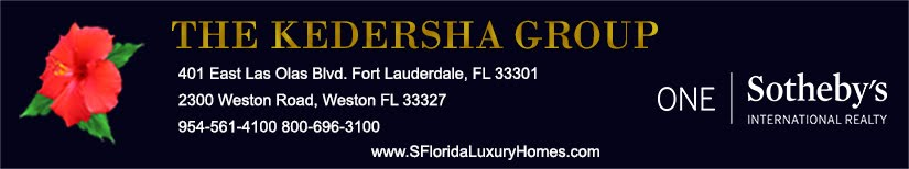 Fort Lauderdale to Weston Luxury Homes and Condo Real Estate, Eileen Kedersha