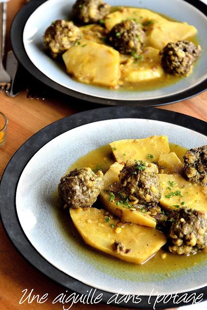 Beef meatballs-lemon-celery-Ottolenghi-simple