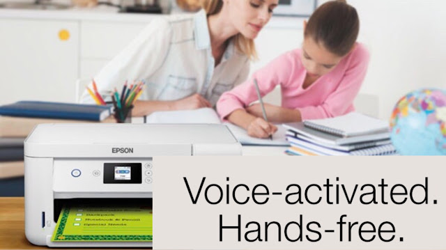 Epson Voice-activated Printing