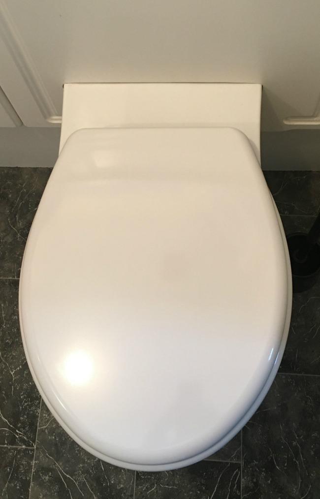 white-toilet-with-seat-down