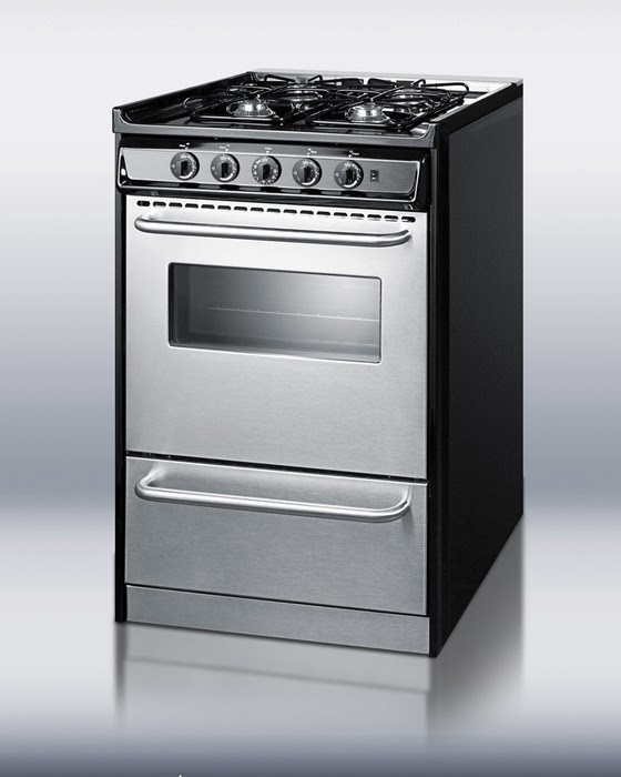 slide in gas range stainless steel