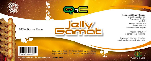 Manfaat Jelly Gamat QnC