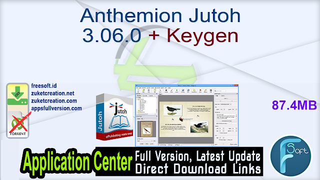 Anthemion Jutoh 3.06.0 + Keygen