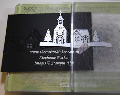 #cardmaking, #diecutting, Hometown Greetings dies, How to extend a die cut, #thecraftythinker, Stampin' Up Australia Demonstrator, Stephanie Fischer, Sydney NSW